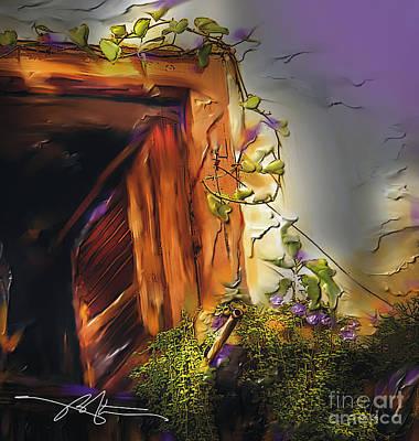 Cuban Shuttered Window Art Print by Bob Salo
