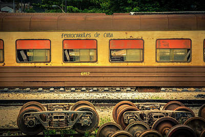 Photograph - Cuban Train by Lou Novick