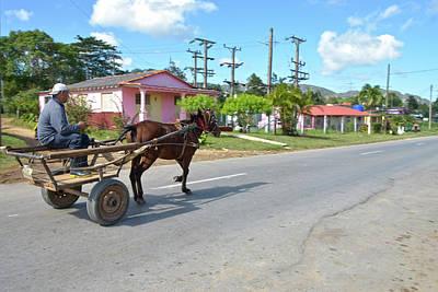 Cuban Transportation Art Print
