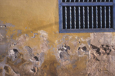 Photograph - Cuban Wall And Window by Marcus Best