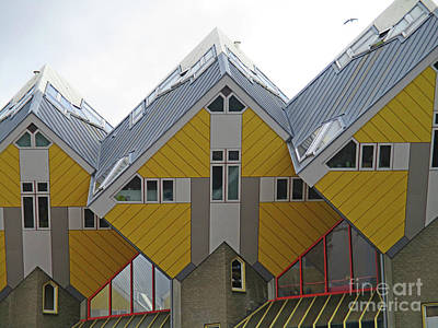 Photograph - Cube Houses 11 by Randall Weidner