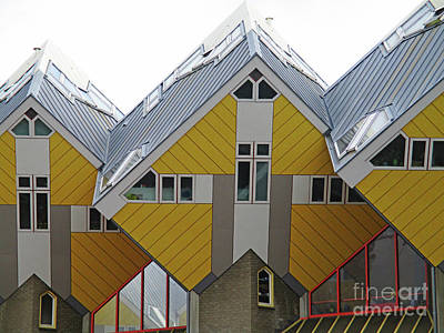 Photograph - Cube Houses 13 by Randall Weidner