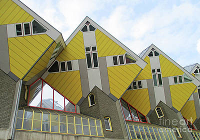 Photograph - Cube Houses 25 by Randall Weidner