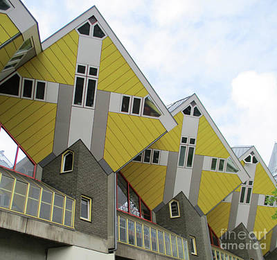 Photograph - Cube Houses 27 by Randall Weidner