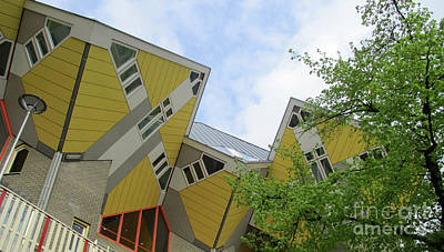 Photograph - Cube Houses 29 by Randall Weidner