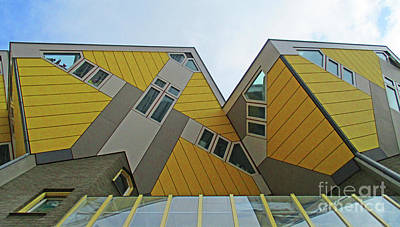 Photograph - Cube Houses 32 by Randall Weidner