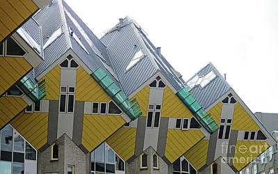 Photograph - Cube Houses 34 by Randall Weidner