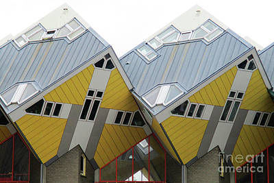 Photograph - Cube Houses 8 by Randall Weidner