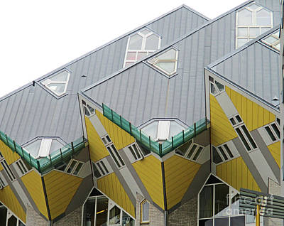 Photograph - Cube Houses 9 by Randall Weidner