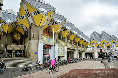 Photograph - Cube Houses In Rotterdam by RicardMN Photography
