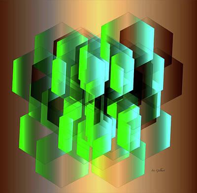 Digital Art - Cube by Iris Gelbart