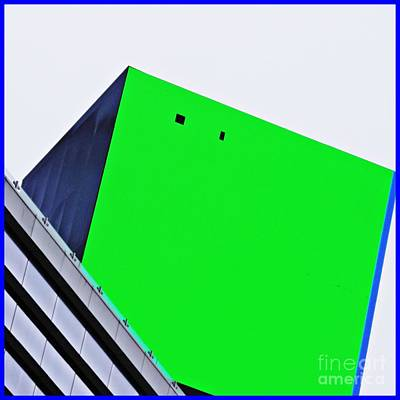 Photograph - Cube On 42nd Street Square Format by Sarah Loft