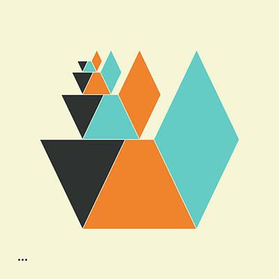 Cubes 2.3 Art Print