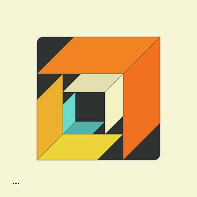 Cubes 6.0 Art Print