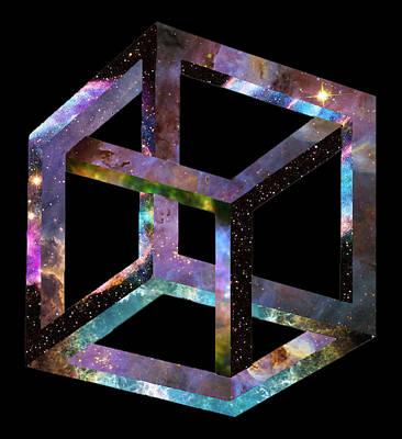 Photograph - Cubic Universe by Mark Blauhoefer