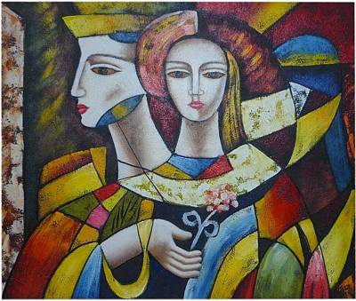 Cubism Inspired 2 Art Print by The Art Markets