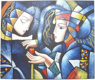 Cubism Inspired 3 Art Print by The Art Markets