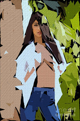 Digital Art - Cubism Series 690 by Rafael Salazar