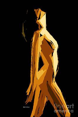 Tribute To Women Digital Art - Cubism Series Vii by Rafael Salazar