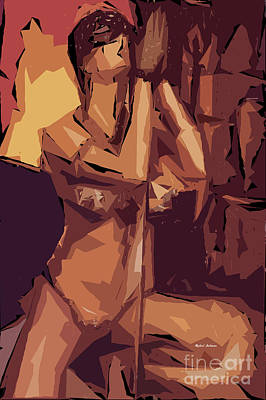 Tribute To Women Digital Art - Cubism Series Xi by Rafael Salazar