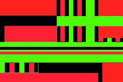 Digital Art - Cubist 1 by Ronald Irwin