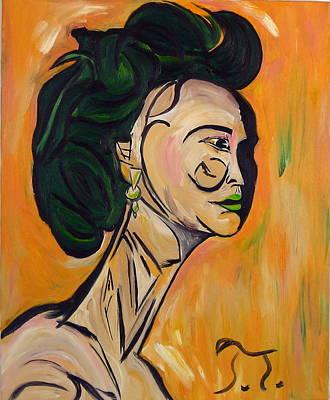 Cubist Yoko Original