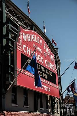 Photograph - Cubs Versus Braves by David Bearden