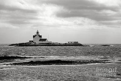 Cuckolds Light Lighthouse  Art Print by Olivier Le Queinec