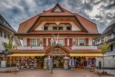 Photograph - Cuckooclock Shop Titisee Germany 7r2_dsc8275_05112017 by Greg Kluempers