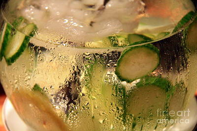 Photograph - Cucumber And Lemon.. by Jolanta Anna Karolska