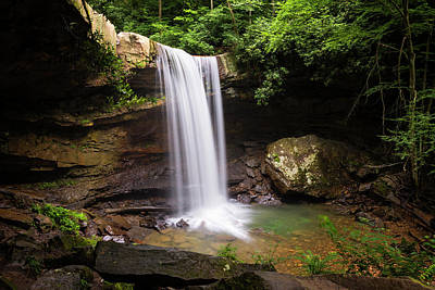 Photograph - Cucumber Falls #2 by Stephen Stookey
