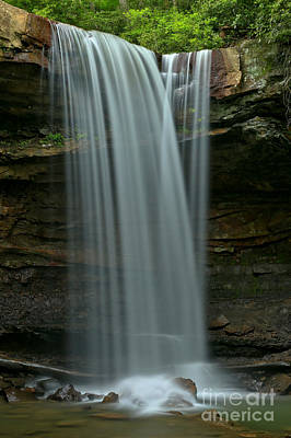 Photograph - Cucumber Falls Close Up by Adam Jewell
