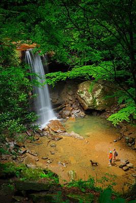 Photograph - Cucumber Falls by Emmanuel Panagiotakis