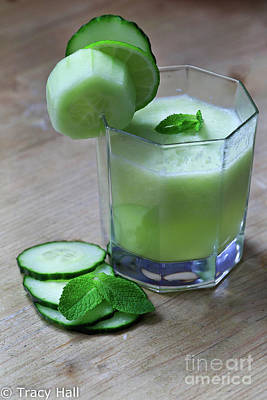 Cucumber, Lime And Mint Original by Tracy Hall