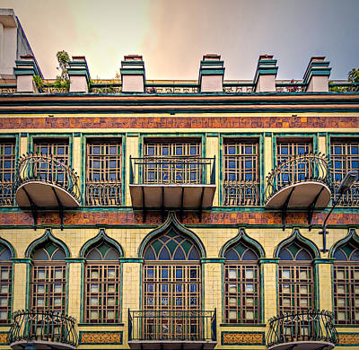 Photograph - Cuenca Building by Maria Coulson