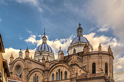 Photograph - Cuenca Cathedral by Maria Coulson