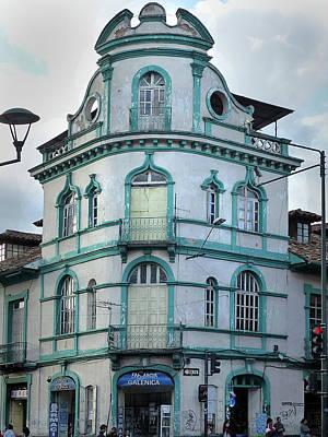 Photograph - Cuenca Ecuador Arch 40 by Jeff Brunton