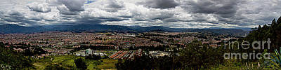 Photograph - Cuenca, Ecuador - Panorama by Al Bourassa