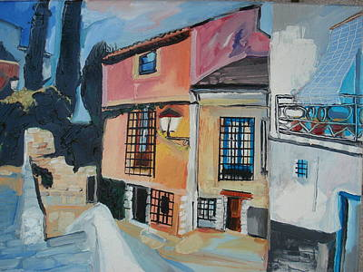 Architektur Painting - Cuenca by Henry Beer