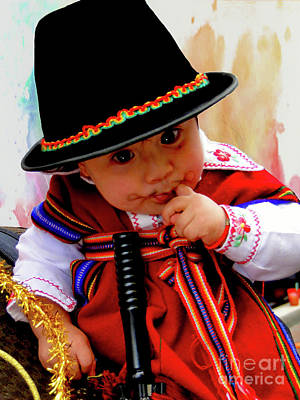 Photograph - Cuenca Kids 1000 by Al Bourassa