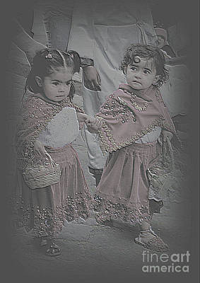 Photograph - Cuenca Kids 1005 by Al Bourassa