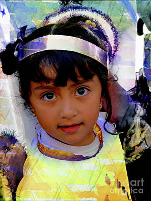 Photograph - Cuenca Kids 1008 by Al Bourassa