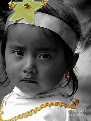 Photograph - Cuenca Kids 1046 by Al Bourassa