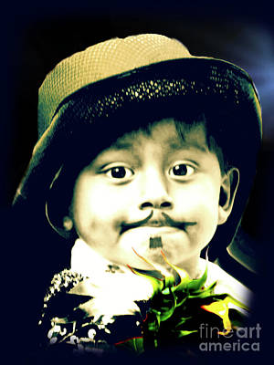 Photograph - Cuenca Kids 1047 by Al Bourassa