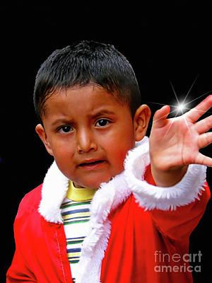 Photograph - Cuenca Kids 1048 by Al Bourassa