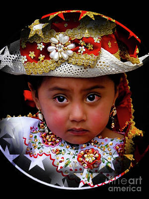 Photograph - Cuenca Kids 1049 by Al Bourassa