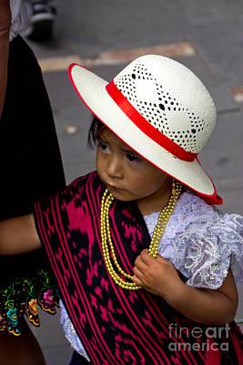 Waif Photograph - Cuenca Kids 714 by Al Bourassa