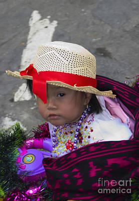 Spanish Shawl Photograph - Cuenca Kids 718 by Al Bourassa