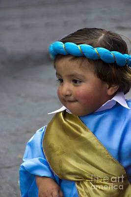 Christmas Eve Photograph - Cuenca Kids 740 by Al Bourassa