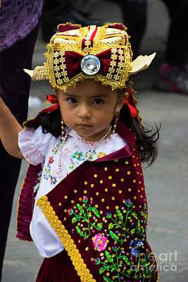 Spanish Shawl Photograph - Cuenca Kids 756 by Al Bourassa